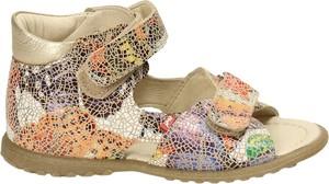 Buty dziecięce letnie EMEL na rzepy ze skóry