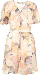 Sukienka MOLLY BRACKEN z dekoltem w kształcie litery v mini