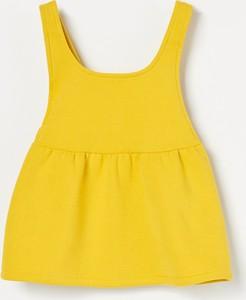 Żółta spódniczka dziewczęca Reserved