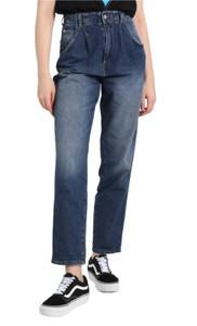 Niebieskie jeansy Pepe Jeans w stylu casual z bawełny