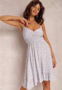 Sukienka Renee z dekoltem w kształcie litery v na ramiączkach mini