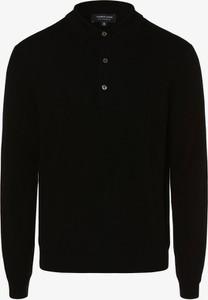 Czarny sweter Andrew James z kaszmiru