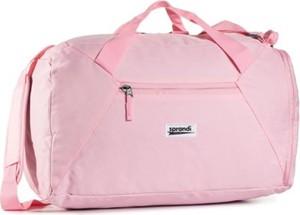 Różowa torba podróżna Sprandi