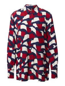 Koszula Tommy Hilfiger w sportowym stylu z kołnierzykiem