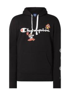 Czarna bluza Champion w młodzieżowym stylu z bawełny