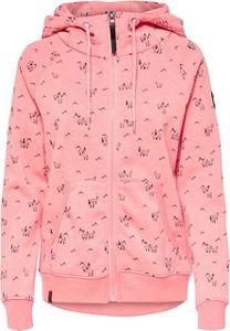 Różowa bluza Only krótka