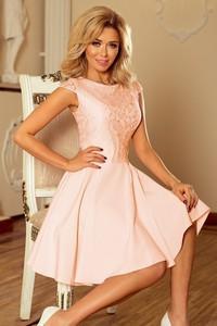 867c2f1c5c brzoskwiniowa sukienka na wesele - stylowo i modnie z Allani