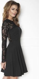 Czarna sukienka la`Aurora