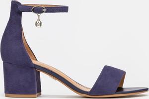 Niebieskie sandały Kazar