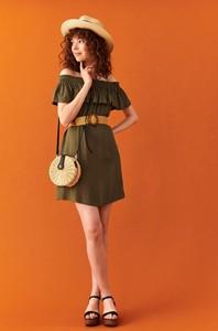 Sukienka Top Secret oversize w stylu casual z krótkim rękawem