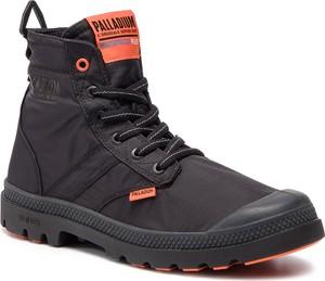 Buty zimowe Palladium w stylu casual sznurowane