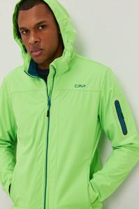 Zielona kurtka CMP z tkaniny
