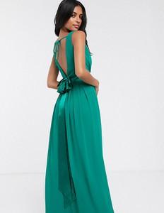 Zielona sukienka Tfnc bez rękawów