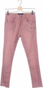 Różowe jeansy dziecięce Blue Seven