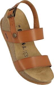 Sandały BAYTON ze skóry