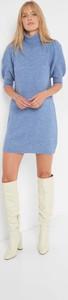 Sukienka ORSAY z wełny z golfem mini
