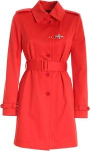 Czerwony płaszcz Fay w stylu casual