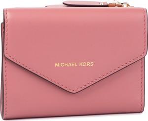 b628051292690 Różowy portfel Michael Kors ze skóry