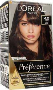 L'Oreal Paris L'Oreal, Preference, farba do włosów, 4.0 Tahiti, brąz