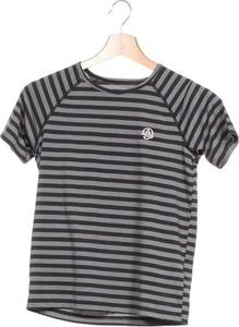 Czarna koszulka dziecięca Ternua dla chłopców