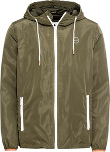 Zielona kurtka Revolution w stylu casual