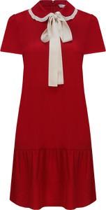 Sukienka Red Valentino z jedwabiu w stylu casual midi