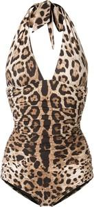 Brązowy strój kąpielowy Dolce & Gabbana w stylu casual