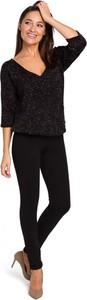 Czarne spodnie MOE