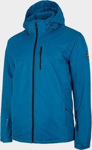 Niebieska kurtka Outhorn krótka w sportowym stylu