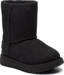 Czarne buty dziecięce zimowe UGG Australia