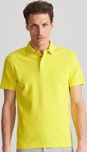 Zielona koszulka polo Reserved