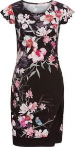 Bonprix bodyflirt sukienka z dżerseju w kwiatowy deseń