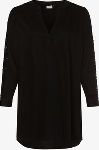 Bluzka Junarose w stylu casual z dekoltem w kształcie litery v