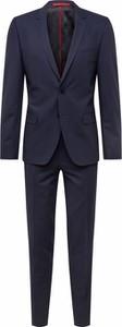 Granatowy garnitur Hugo Boss z wełny