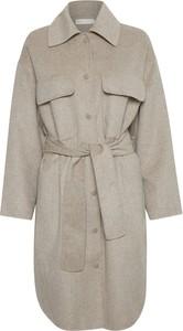 Płaszcz InWear z wełny w stylu casual