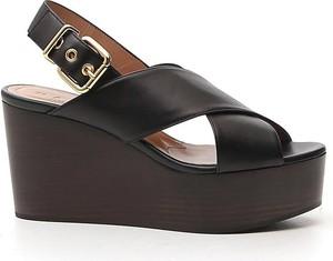 Sandały Marni z klamrami ze skóry w stylu casual