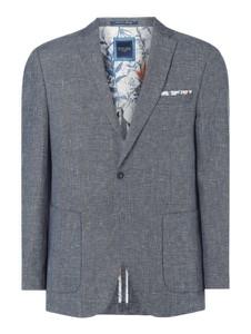 Niebieski garnitur Christian Berg Men z bawełny