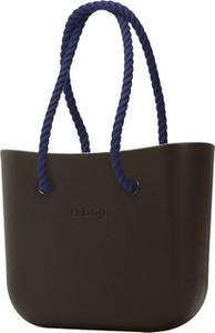 Torebka O Bag duża w wakacyjnym stylu na ramię