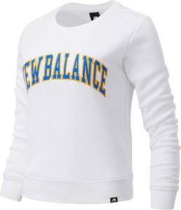 Bluza New Balance z tkaniny w sportowym stylu