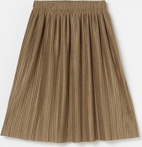 Brązowa spódniczka dziewczęca Reserved