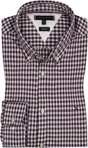 Koszula Tommy Hilfiger z długim rękawem z bawełny z klasycznym kołnierzykiem