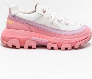 Buty sportowe Caterpillar sznurowane w sportowym stylu