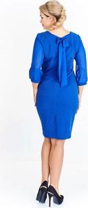 Niebieska sukienka Nubile