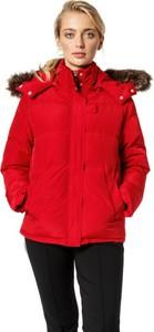 Czerwona kurtka Umbro w stylu casual długa