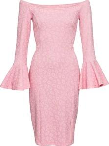 Sukienka bonprix BODYFLIRT boutique z długim rękawem dopasowana