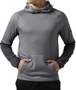 bluza szara z kapturem stylowo i modnie z Allani