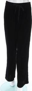 Czarne spodnie sportowe ZARA w stylu retro