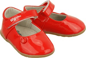 Czerwone balerinki Wojtyłko