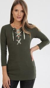 Zielona bluzka born2be