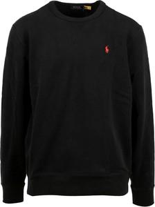 Czarny sweter POLO RALPH LAUREN w stylu casual z wełny